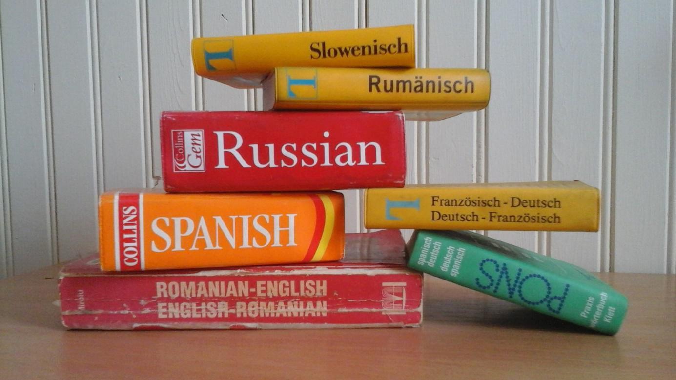 Książki, słowniki